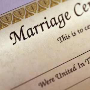 Marriage Certificate Service