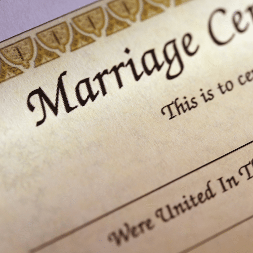 Marriage Certificate Service