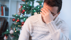 Man coping with first Christmas alone after divorce