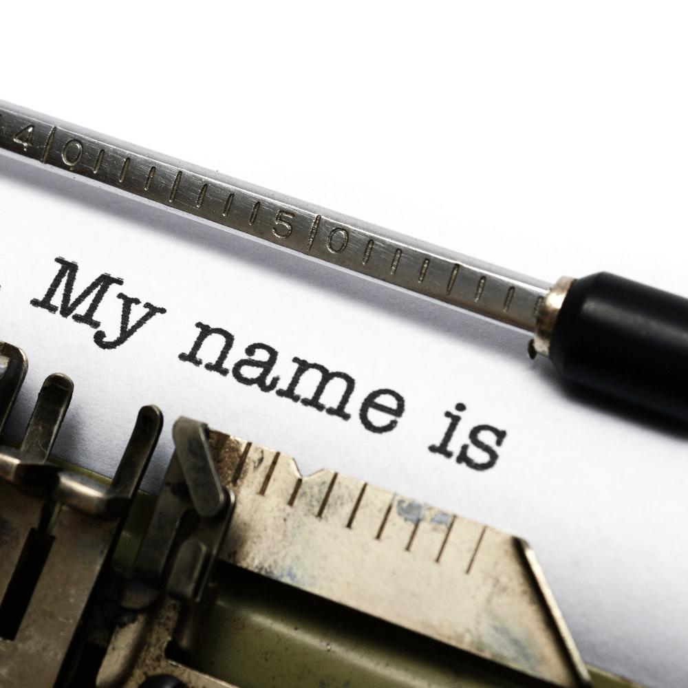 changing name after divorce