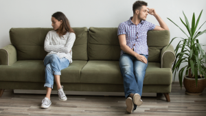 can you divorce if living together?